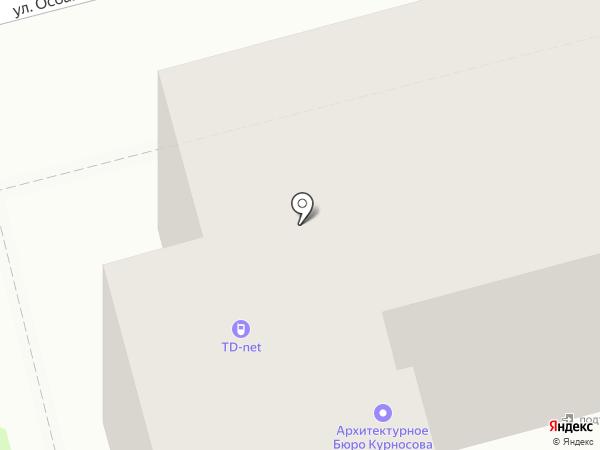 Технодизайн на карте Комсомольска-на-Амуре