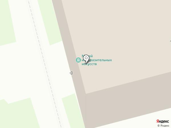 Музей изобразительных искусств на карте Комсомольска-на-Амуре