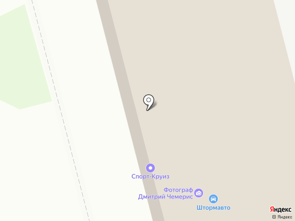Ветеран-2 на карте Комсомольска-на-Амуре