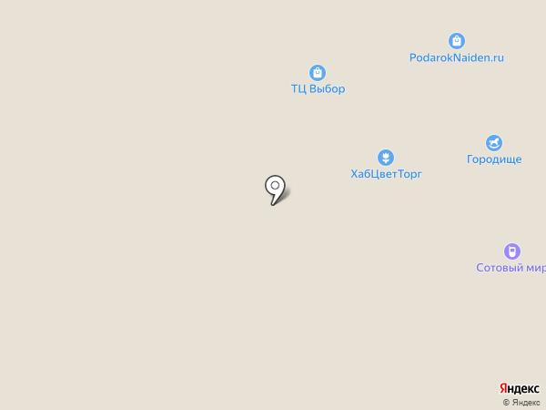 Домовид на карте Комсомольска-на-Амуре