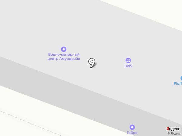 Диапол на карте Комсомольска-на-Амуре