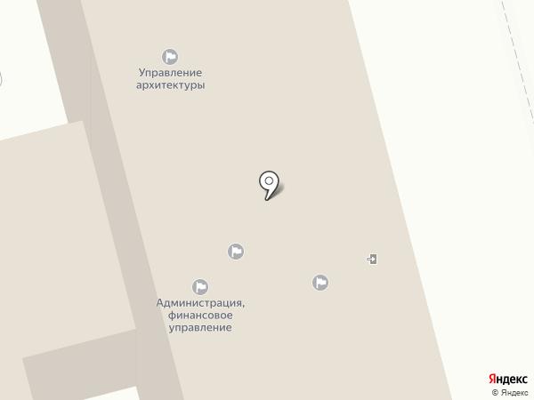 Управление хозяйственного обеспечения деятельности органов местного самоуправления на карте Комсомольска-на-Амуре