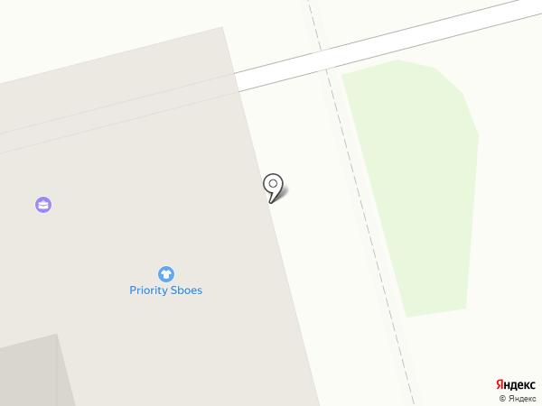 Priority Shoes на карте Комсомольска-на-Амуре