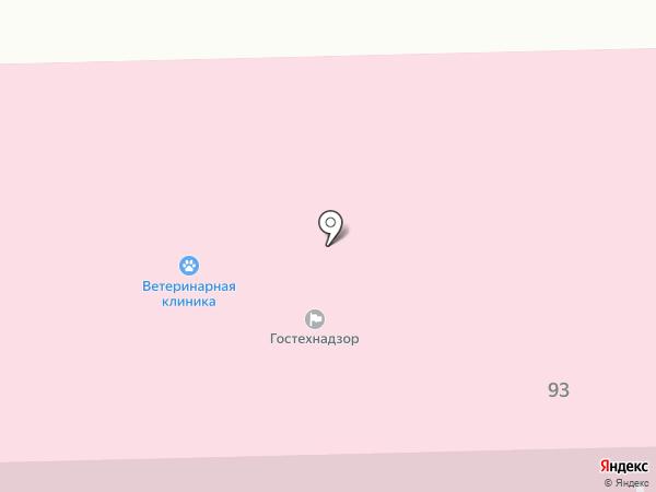 Комсомольская городская станция по борьбе с болезнями животных Центрального округа на карте Комсомольска-на-Амуре