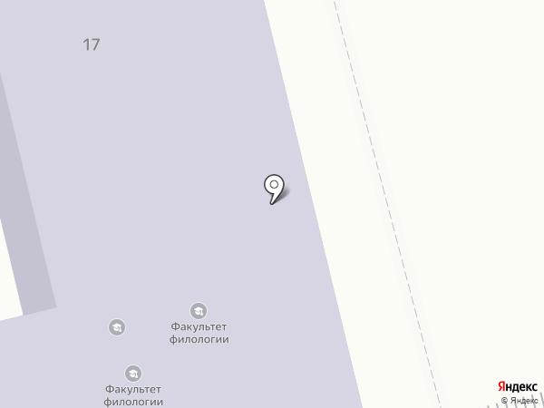 Амурский гуманитарно-педагогический государственный университет на карте Комсомольска-на-Амуре