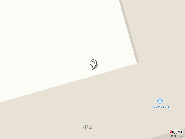 Грамотей на карте Комсомольска-на-Амуре