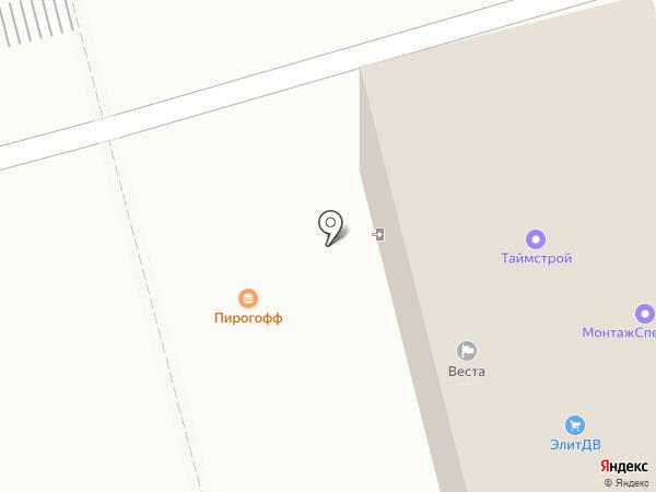 Элит-ДВ на карте Комсомольска-на-Амуре