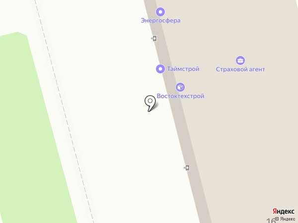 Автобокс на карте Комсомольска-на-Амуре