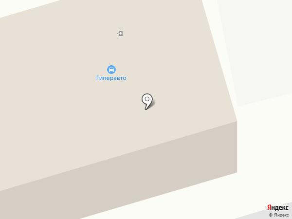 ГиперАвто на карте Комсомольска-на-Амуре