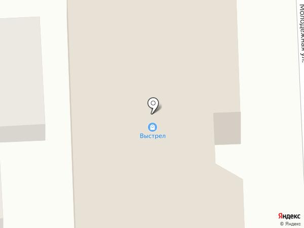 Выстрел на карте Комсомольска-на-Амуре