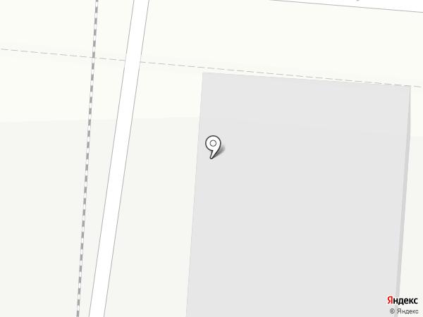 ТЭЦ-2 на карте Комсомольска-на-Амуре