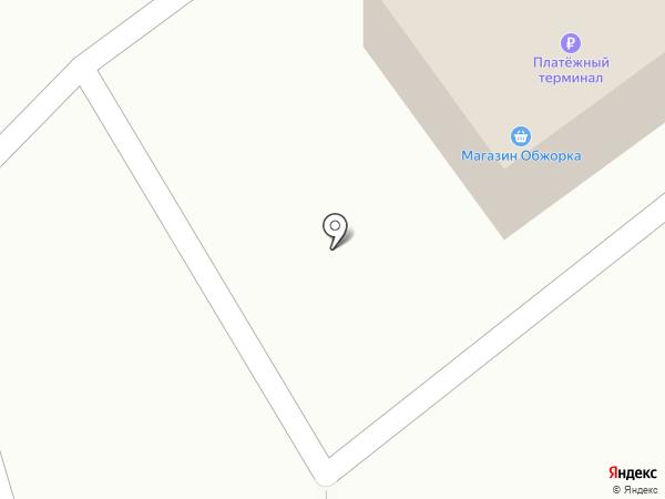 Обжорка на карте Комсомольска-на-Амуре
