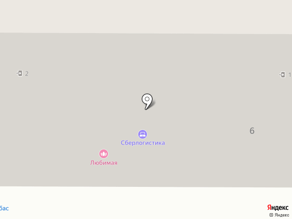 Любимая на карте Комсомольска-на-Амуре