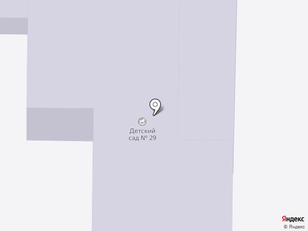 Детский сад №29, Ручеек на карте Комсомольска-на-Амуре
