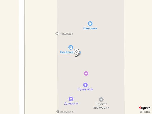 ГОРПЛАТ на карте Комсомольска-на-Амуре