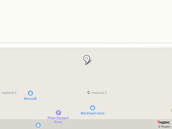 Магазин разливного пива на карте Комсомольска-на-Амуре