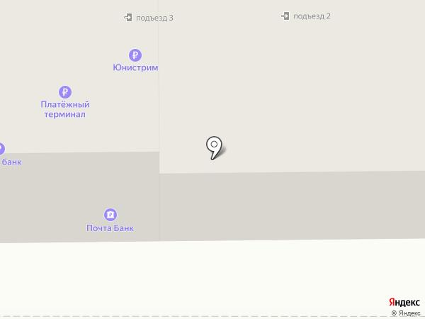 Янтарный на карте Комсомольска-на-Амуре