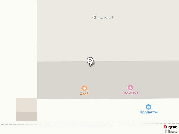 Ника на карте Комсомольска-на-Амуре