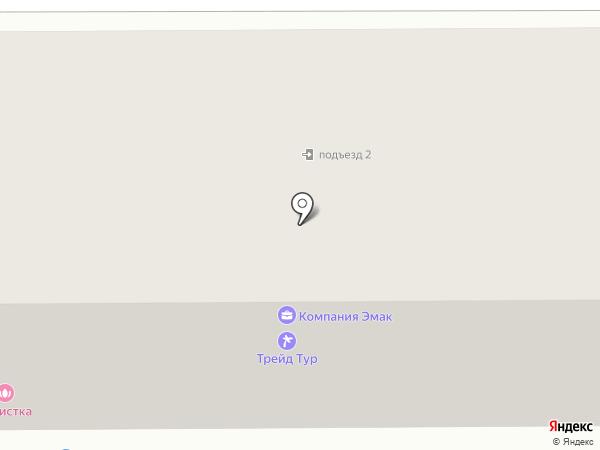 Продуктовый магазин на Советской на карте Комсомольска-на-Амуре
