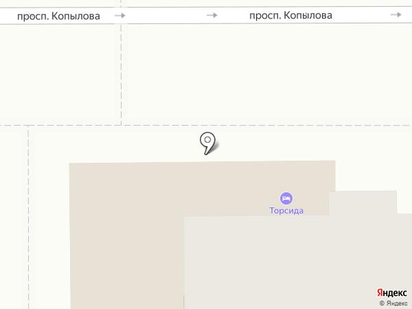 ЗАГС Ленинского округа на карте Комсомольска-на-Амуре
