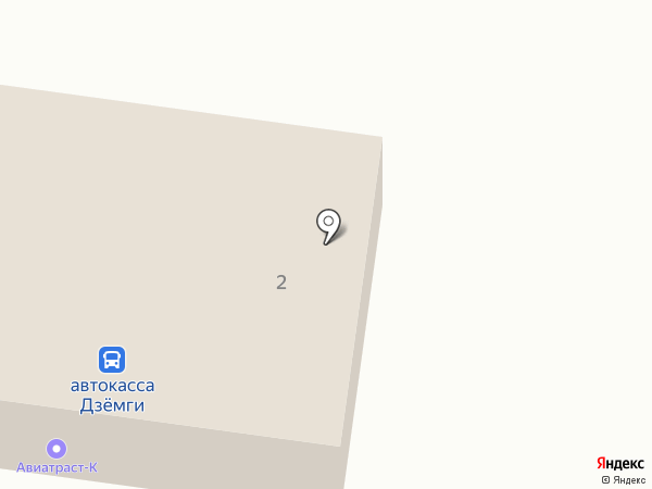 Чайка на карте Комсомольска-на-Амуре