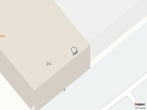 Альмир на карте Комсомольска-на-Амуре