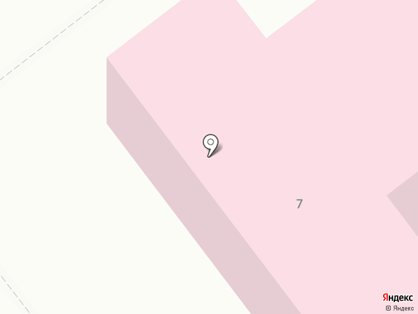 Поликлиника №2 на карте Комсомольска-на-Амуре
