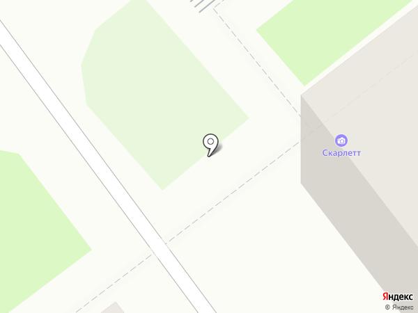 Обжоркин на карте Комсомольска-на-Амуре