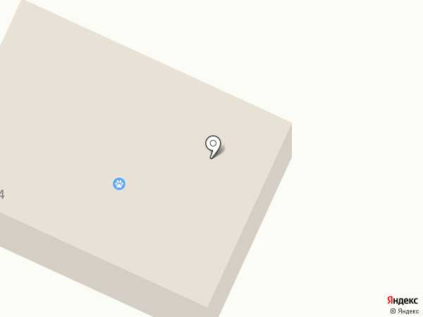Станция по борьбе с болезнями животных №2 на карте Анивы