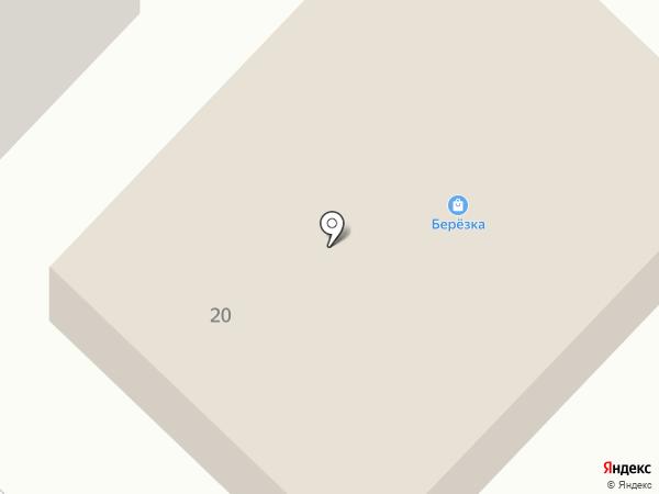 Березка на карте Анивы