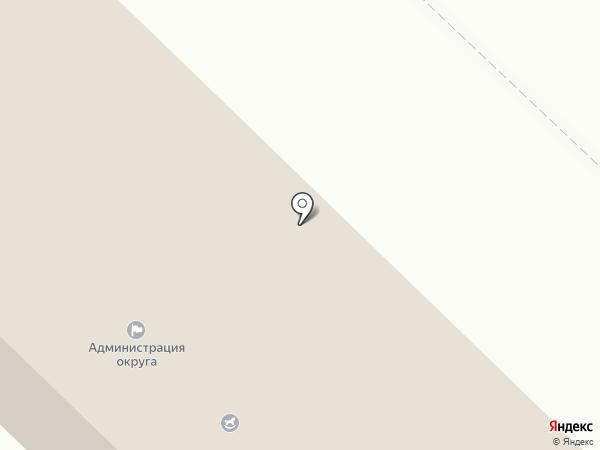 Анивский городской округ на карте Анивы