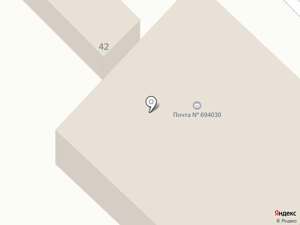Банкомат, Газпромбанк на карте Анивы