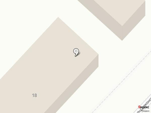 Магазин строительных материалов на карте Анивы