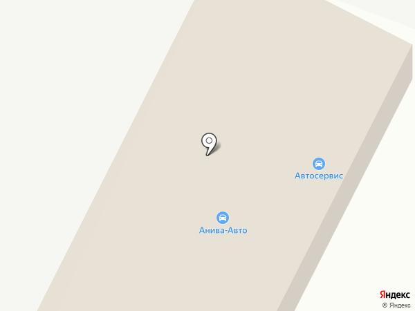Автосервис на ул. Пудова на карте Анивы
