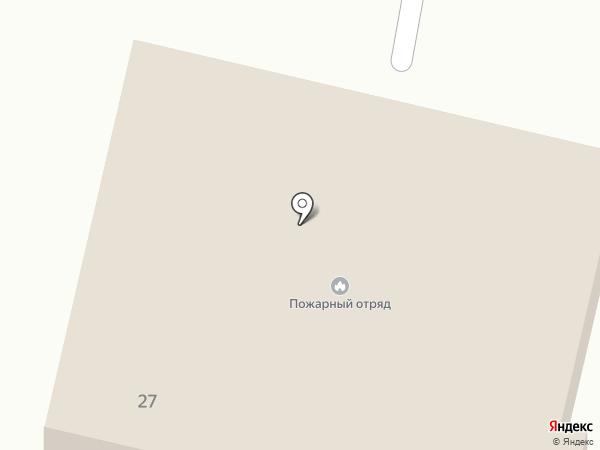 Долинский пожарный отряд на карте Быкова