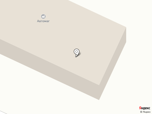 Автомаг на карте Троицкого