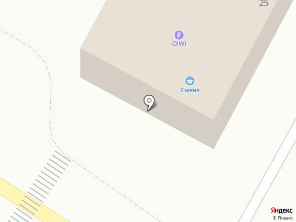 Qiwi на карте Дальнего