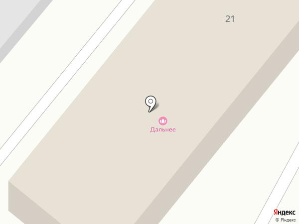 Дальняя на карте Дальнего