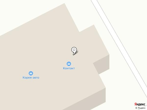 КОРЕЯ-АВТО на карте Южно-Сахалинска