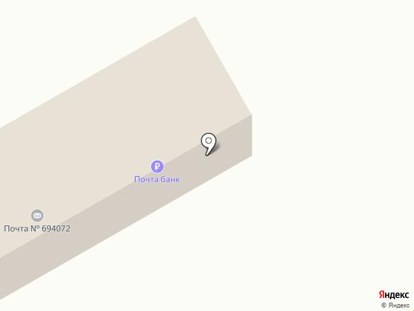 Почтовое отделение на карте Покровки