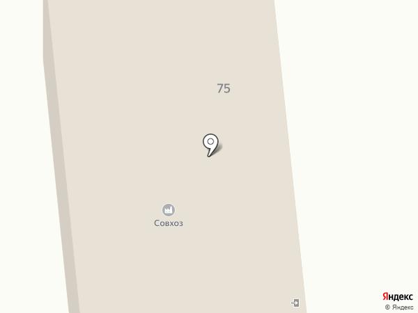 Комсомолец на карте Южно-Сахалинска