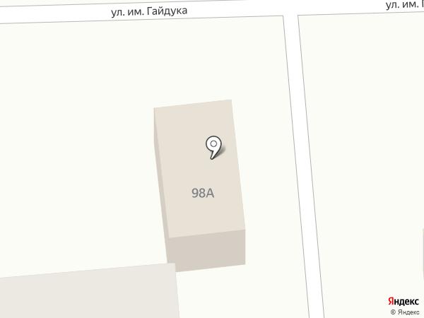 Верный на карте Южно-Сахалинска