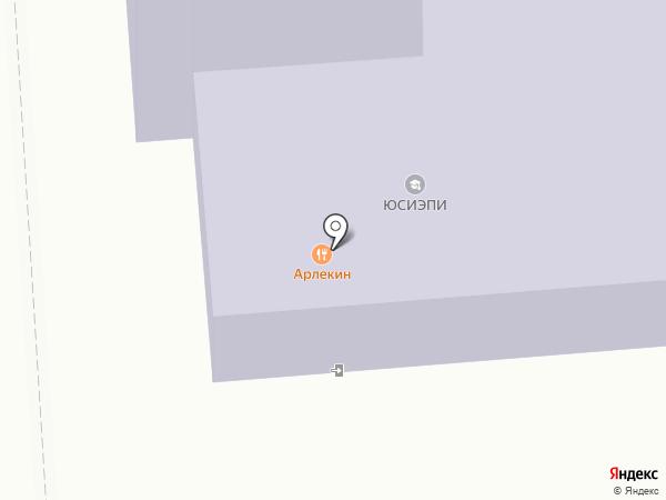 Сахалинский гуманитарно-технологический институт на карте Южно-Сахалинска