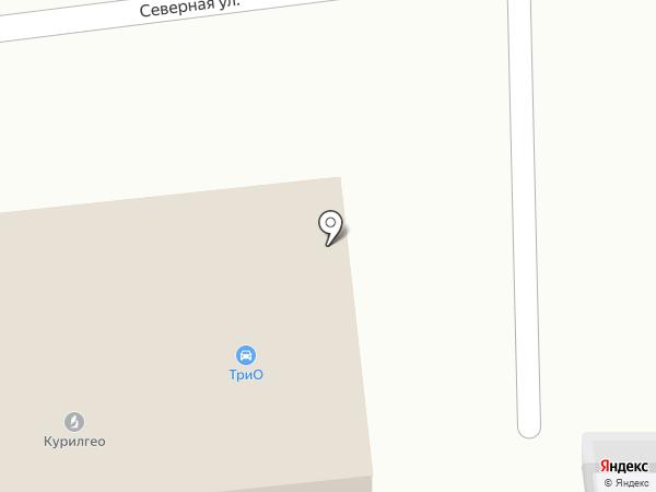INTERO на карте Южно-Сахалинска