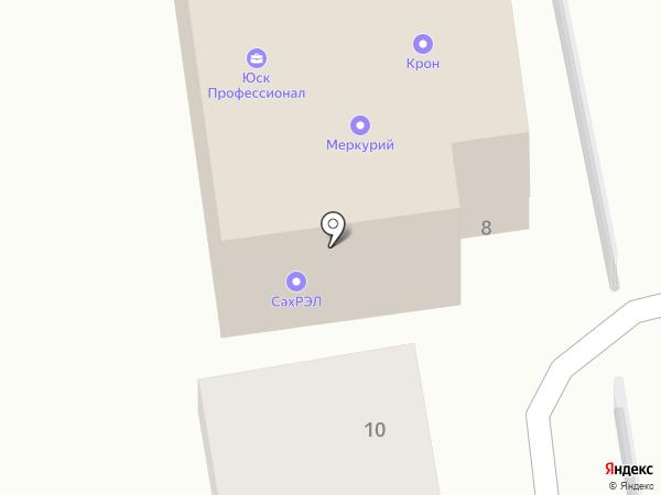 Адвокатский кабинет Черкашина Р.В. на карте Южно-Сахалинска