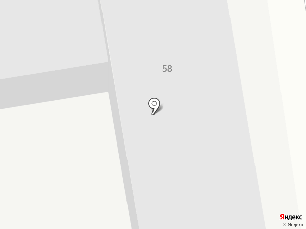Авангард на карте Южно-Сахалинска