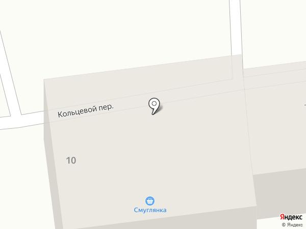 Смуглянка на карте Южно-Сахалинска