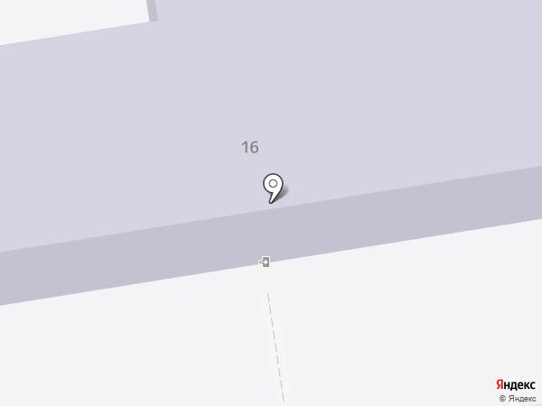 Основная общеобразовательная школа №14 на карте Южно-Сахалинска