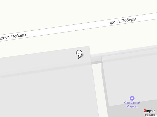 БАСМеханик на карте Южно-Сахалинска