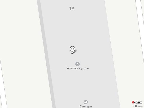Сенчери на карте Южно-Сахалинска